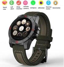 Relógio Bluetooth Inteligente com Bússola Freqüência Cardíaca Esportes de Aventura ao ar livre Termômetro Pressão APLICATIVO Smartwatch Relógio para Mulheres Dos Homens