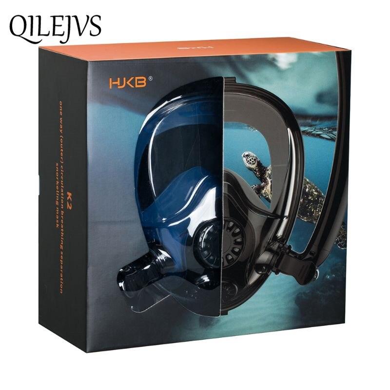 Masque de plongée Anti-buée masque de plongée complet masque de plongée sous-marine pour femmes hommes adultes enfants