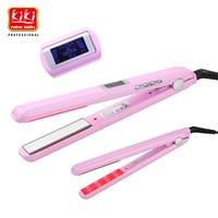 KIKI Ultrasonic Infrared Hair Care Iron Recovers The Damaged Hair Hair Treament Styler Cold Iron Hair