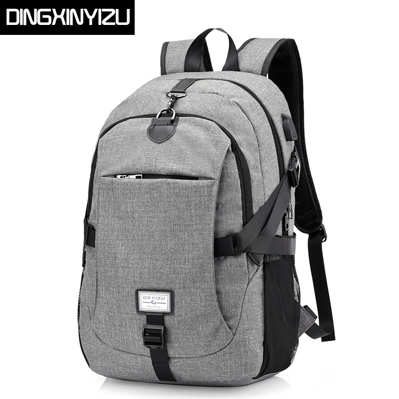 DINGXINYIZU Brand Canvas Mens Backpacks Large Capacity Laptop Notebook Rucksack for Women Back Pack School Backpack bag Mochila