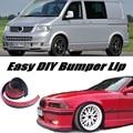 Bumper Lip Deflector Lips For Volkswagen VW Transporter T5 Caravelle Multivan Front Spoiler Skirt For / Body Kit / Strip