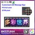 32 * 80 пикселей из светодиодов сообщение вывеска такси топ из светодиодов p10 открытый из светодиодов дисплей щит из светодиодов экран рекламным щитом бегущая строка