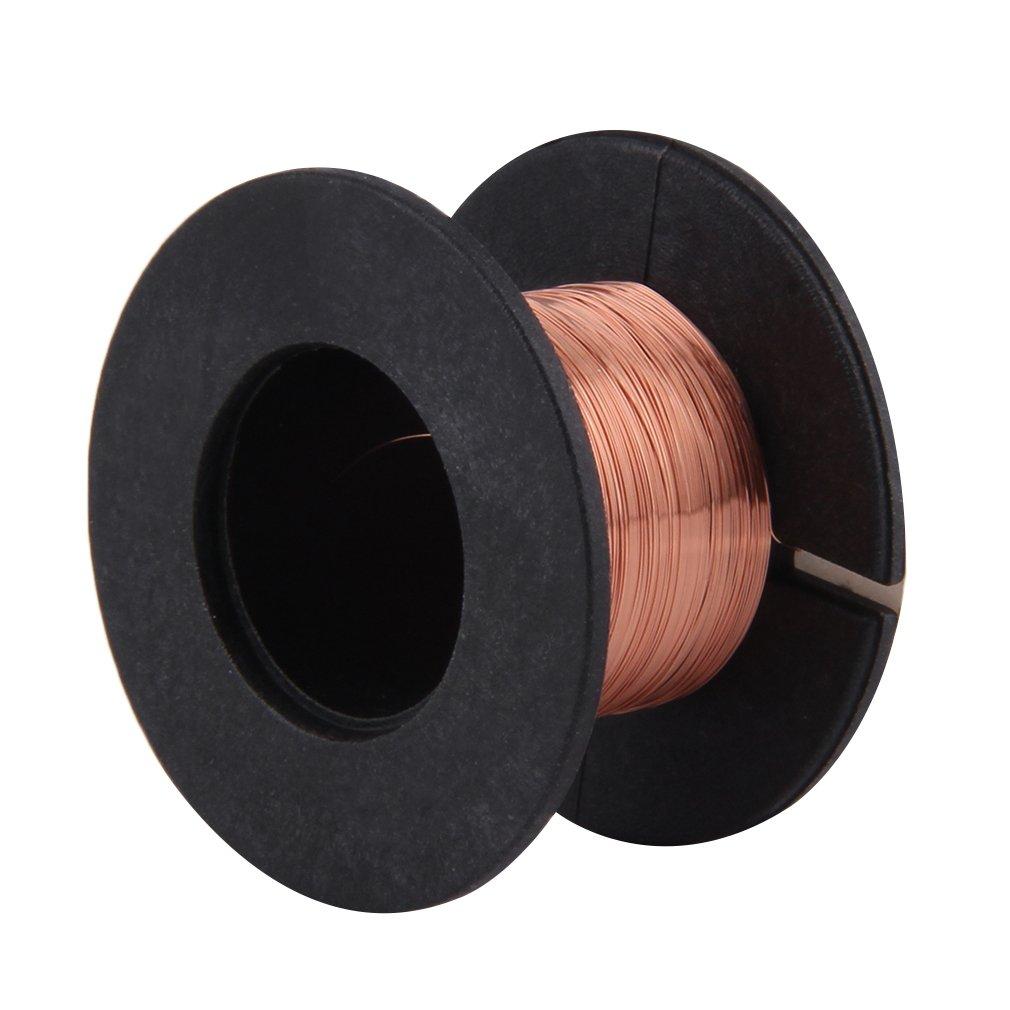 New 0.1MM Copper Soldering Solder PPA Enamelled Repair Reel Wire Fly Line MAL999
