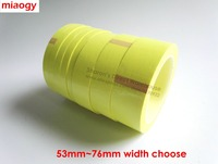 66Meters Roll 5mm 52mm Wide Sticky Insulating Mylar Tape For Transformer Motor Capacitor Power Coil Wrap