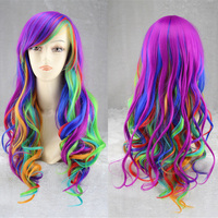 Anime My Little Pony Cosplay Wig 2017 New Halloween Play Wig Party Stage Hair High Quality