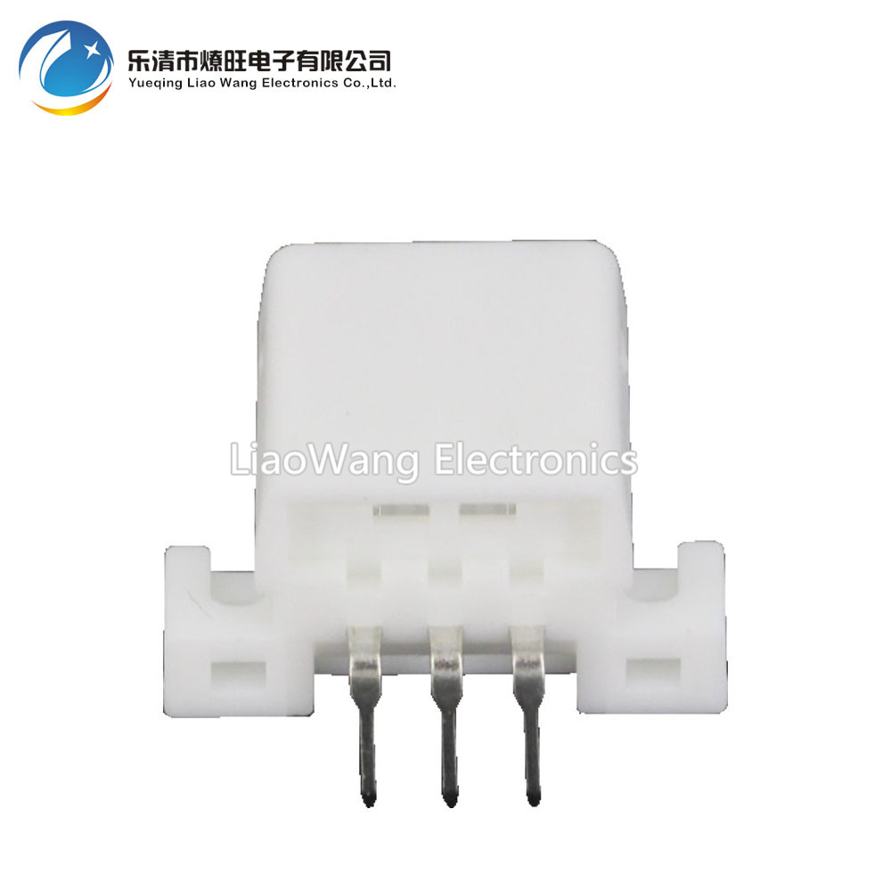 10 PCS 3 Pin jacket car plug connector soldered PCB board looper plug DJ7033 1 8 10AW 3P in Connectors from Lights Lighting
