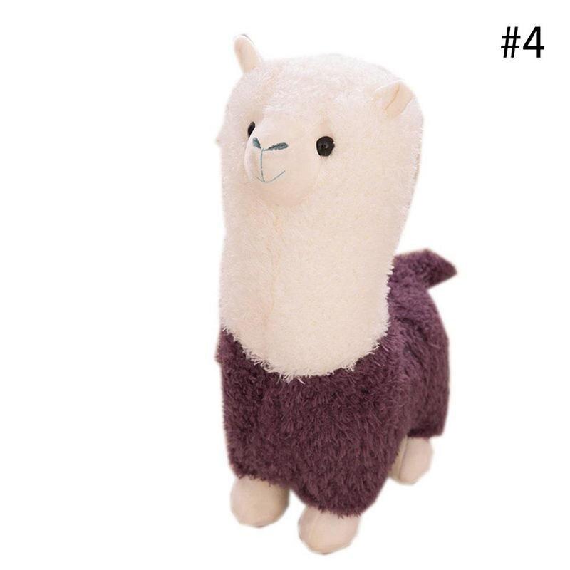 Kids Plush toy Alpaca// Grass Mud Horse// Lama Stuffed Doll Gift Home Decor CF