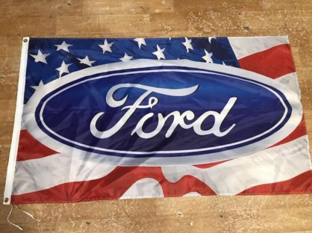 Ford Flags For Car Show Ford Racing Flag X Foot Size - Car show banners