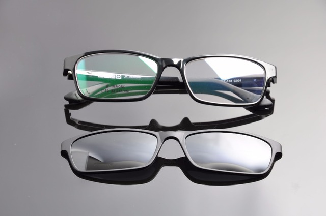 ebd1e1bc8a DEDING Polarized Prescription Sunglasses W  TR90 Optical Frames Men Glasses  Frames Branded Magnetic Clip On Sunglasses DD1409