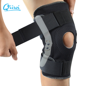 Image 3 - Professional Sports Safety Knee Support Brace Stabilizer with Inner Flexible Hinge Knee Pad Guard Breathable Protector Strap