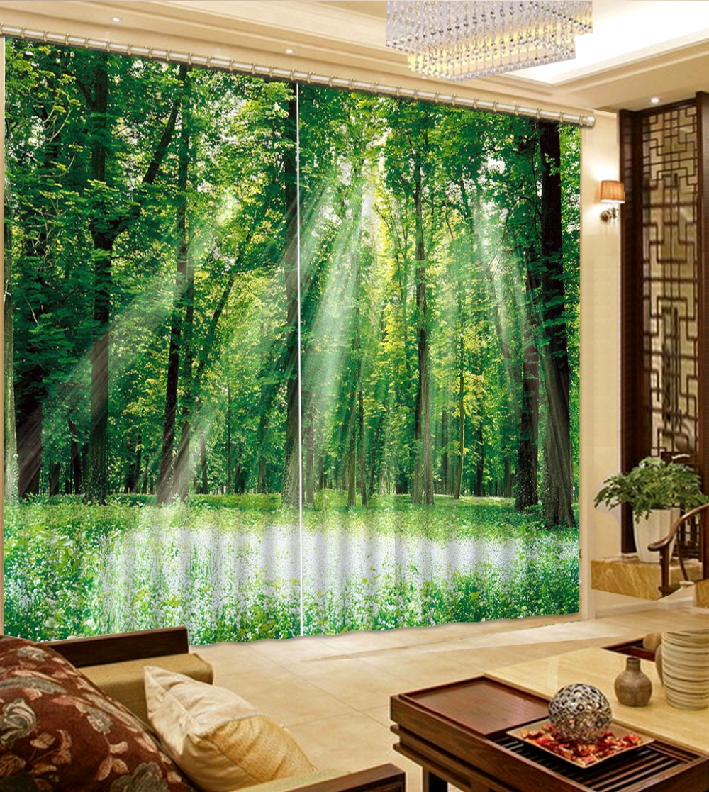 Modern Window Curtains Photo 3d Curtains For Living Room