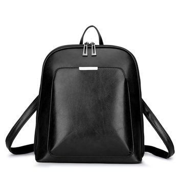 2018 Women Backpack high quality PU Leather  Fashion Backpacks Female Feminine Casual Large Capacity Vintage Shoulder Bags Fashion Backpacks