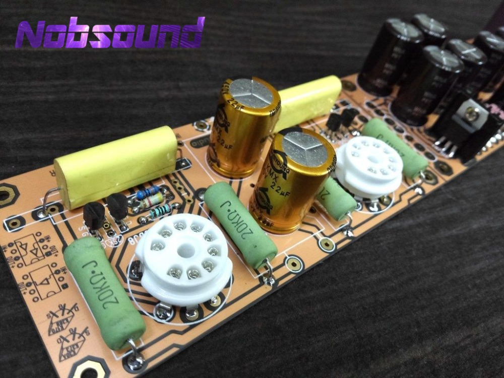 Consumer Electronics Lite Ls29 Pcb Tube Buffer Preamplifier Board Pcb Based On Musical Fidelity X10-d Pre-amp Circuit