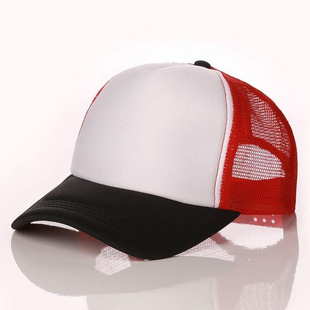 black White Red Baseball net 5c64f225d8786