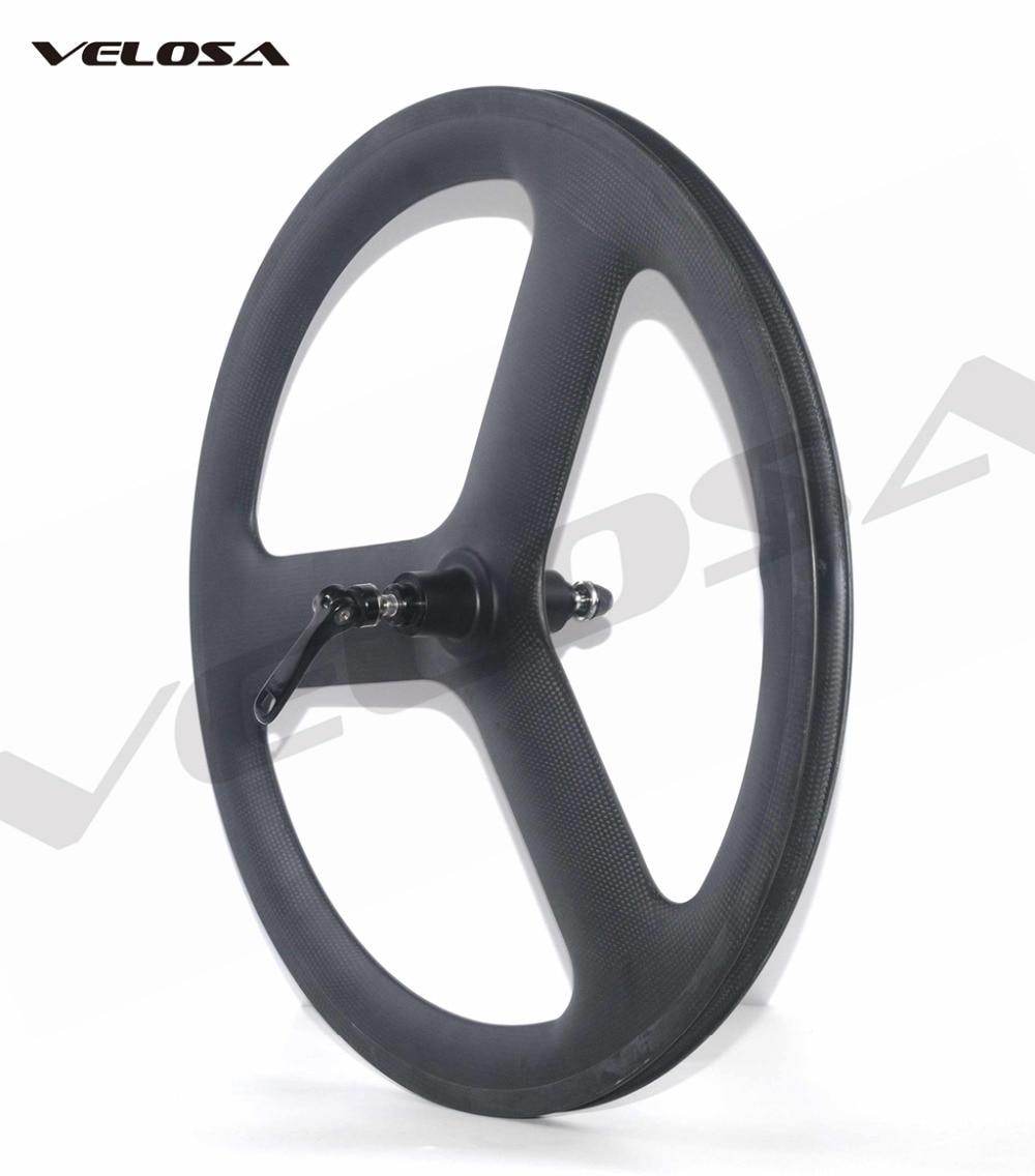20 inch bike carbon wheel Full carbon Velosa 20inch 451 wheelset 38mm clincher V brake folding