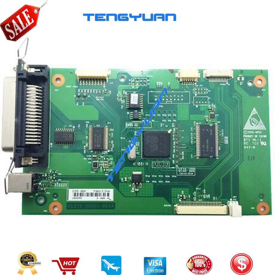 Free shipping 100% test  for HP2014 P2014 Formatter Board CC375-60001 printer parts on sale free shipping 100% test for hp2700n formatter board cb455 60001 q7825 67901 printer parts on sale