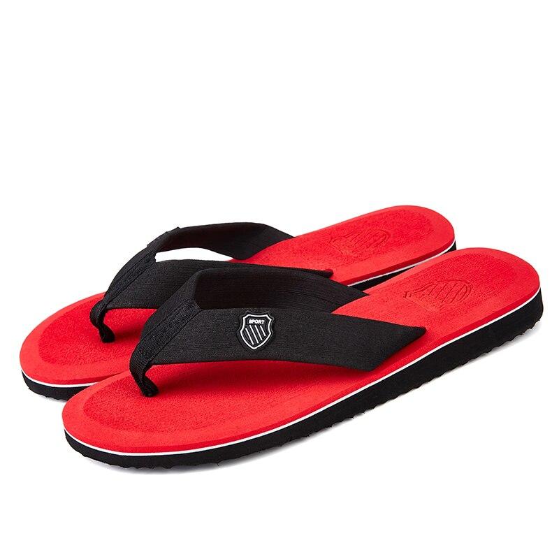 Летняя мода Для мужчин вьетнамки пляжные сандалии для Для мужчин без каблука Шлёпанцы для женщин Нескользящие Обувь, сандалии Мягкая обувь ...