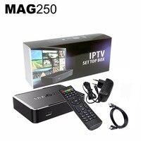 2018 Mag250 New Streaming IPTV Box STi7105 Linux Operating System IPTV Set Top Box No Iptv