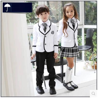 8846d92348060 placeholder Uniformes escolares japoneses coreanos británicos niños Escuela  Primaria uniforme escolar niños niñas y niños chaqueta falda