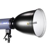 Meking Iluminação Controle de Luz snoot refletor de 45 graus com Honeycomb Grid for bowens monte Fotografia