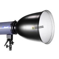 Meking Lighting snoot 45 degree reflector Light Control with Honeycomb Grid for bowens mount Fotografia