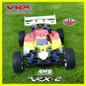 Image 4 - RC off road VRX Corse RH802 VRX 2 1/8 nitro RTR 4WD buggy, force.21 nitro motore nitro telecomando giocattoli auto, nitro potenza