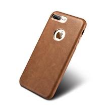 Оригинальный xoomz для Apple iPhone 7 6 6S плюс телефон, старинные искусственная кожа с позолотой тонкая задняя крышка чехол для iPhone 6 плюс 7