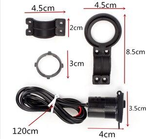 Image 3 - 12 24V אופנוע USB מטען חשמל מתאם עמיד למים עבור ימאהה YZF 600R Thundercat R1 R6 R25 R3 FZ1 FAZER FZS 1000S