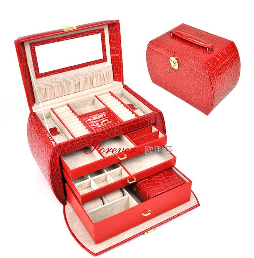Box Cosmetic Box Trinkets Storage Box Birthday Wedding Gift Bride Gift ...