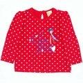 High Quality 56-86 Height Newborn Baby Boys Girls T-Shirt 100% Cotton Children's Tees Boy Clothing Kids Tops Girl Jacket