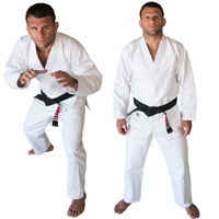 High Quality Brazilian Jiu Jitsu Judo Gi Uniform Standard Jiu Jitsu Judo Suit Training Suits