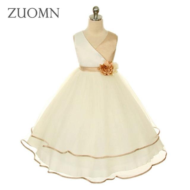 Mädchen Kleid Spitze Blume Frühling Kleid Luxus Kleider Baby ...