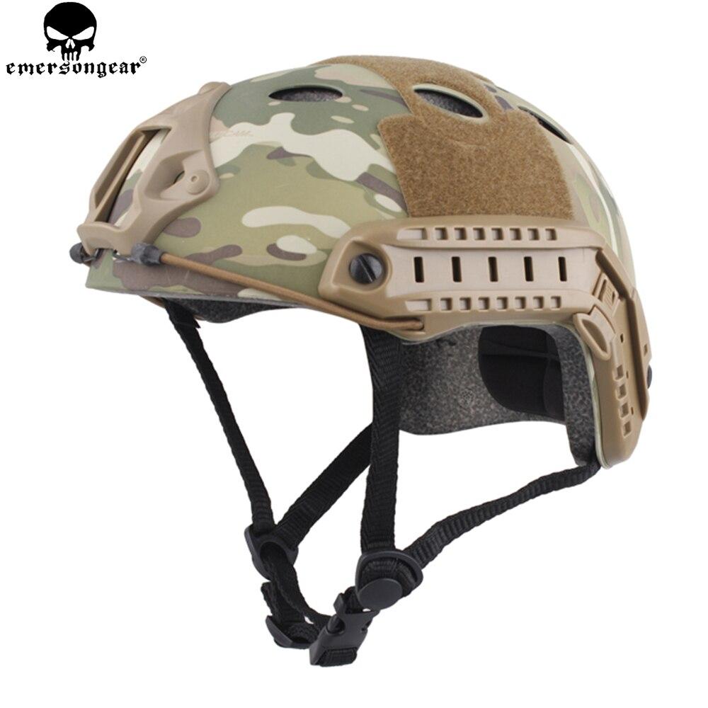 EMERSONGEAR PJ Тип БЫСТРО Шлем тактический легкий защитный шлем для Airsoft Пейнтбол Охота Пеший Туризм Велоспорт EM8811