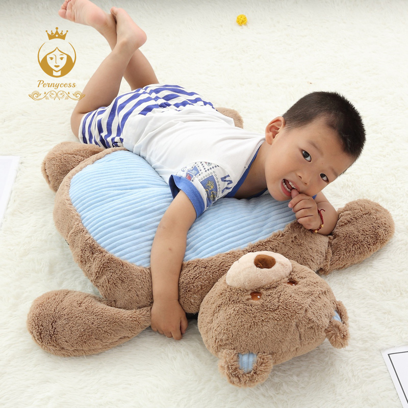 Baby Play Mat Kids Climb Pad Cute Animal Dog Rabbit Bear Frog Elephant Plush Toy Pet Mat Baby Gym Mat Baby Toy hot sale short plush chew squeaky pet dog toy