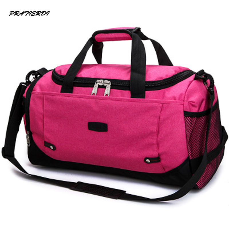 Large Gym Sports Duffle Bag Black Grey Men And Women Fitness Shoulder Gym  Bag Hot Training Female Yoga Duffel Bag 2017-in Gym Bags from Sports ... aaa53893bac5d