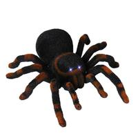 Simulation Spider Scary Horror Prank Toy Electric Remote Control Light Halloween Kid Gift Shock Jokes Prank Scary Creepy Insect