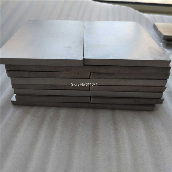 цены  GR5 Grade5 Titanium alloy metal plate sheet 8mm thick wholesale price 16pcs ,free shipping