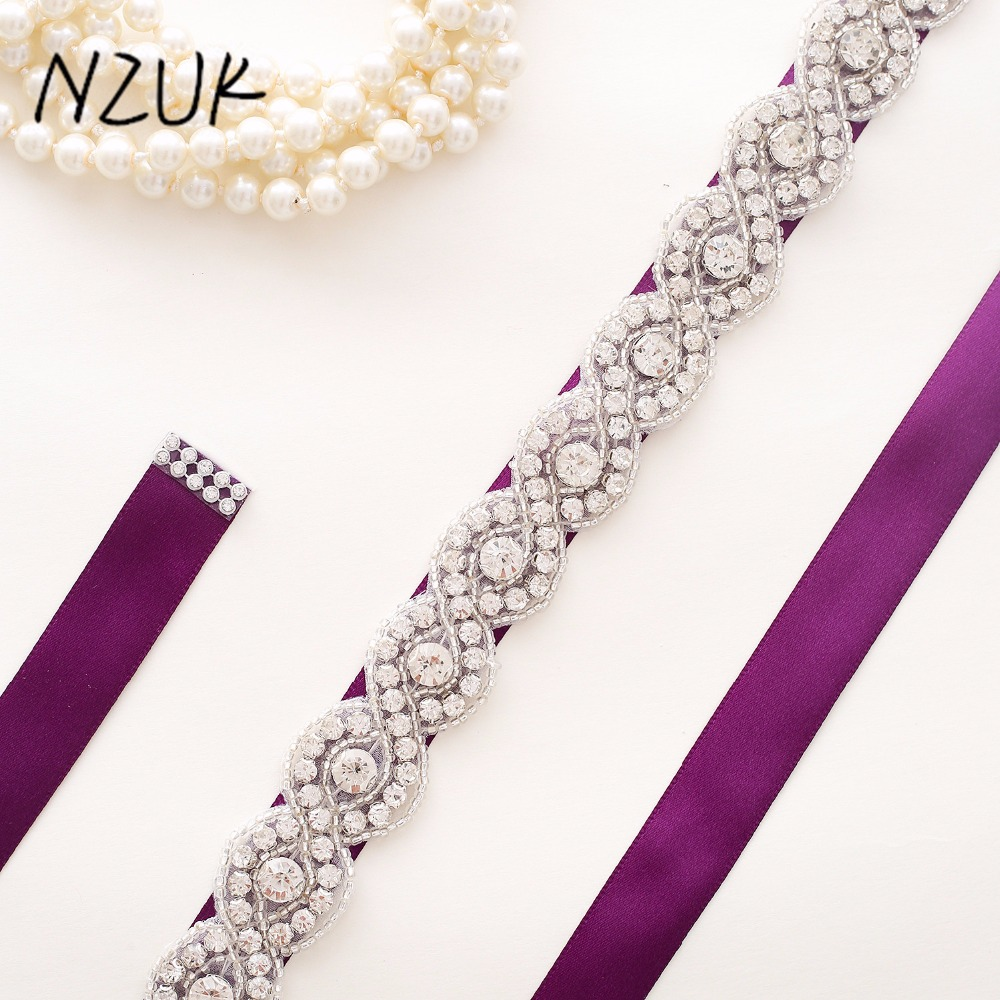 Wedding Sashes Belts  Bridal Belts Sashes Crystal Rhinestones Bride For Evening Party Gown Dresses
