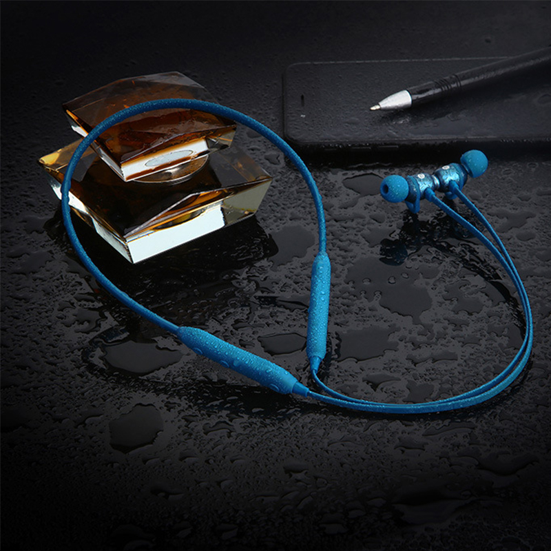 Bluetooth Earphone Sport Sweatproof running Wireless headphone neckband Magnetic earbuds stereo auriculares for iphone