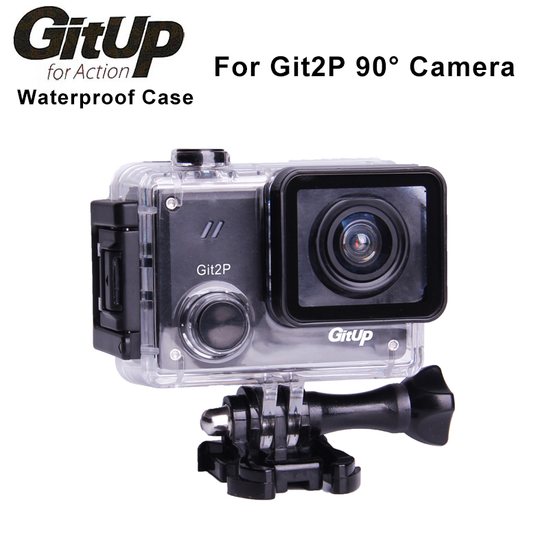 Original Underwater 30M Waterproof Case For GitUp GIT2P 90 Degree FOV Action Camera