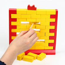 Unisex New Funny Gadgets Push Wall Board Game Wall Demolish Parent-Child Interactive Toy Learning Educational Toys for Kids juior blokus classic kids board game baby desktop funny strategy game family parent child interactive educational fun toys