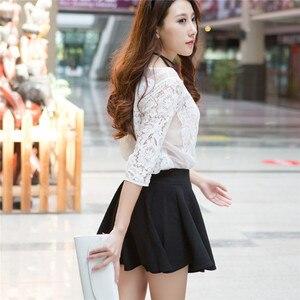 Image 4 - 2020 Tất Cả Đều Phù Hợp Tutu Học Váy Váy Ngắn Cho Nữ Lại An Toàn Mùa Hè Xếp Ly Chân Váy Ngắn Faldas Bầu Mini Hàn Quốc saia Gratis