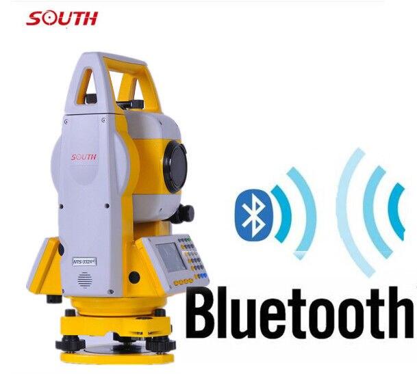 Reflectorless 400 m estação total do laser do sul NTS-332R4 Com Bluetooth