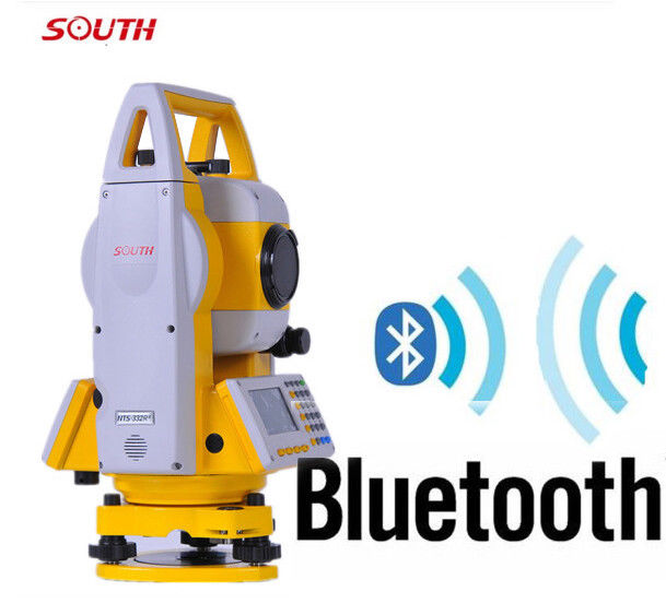 South Reflectorless 400m laser total station NTS 332R4 With Bluetooth