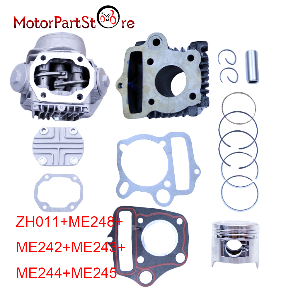 70CC ENGINE CYLINDER REBUILD KIT for HONDA ATC70 CRF70 CT70 TRX70 XR70 C70 S65 Motorcycle Accessories * 38mm cylinder barrel piston kit