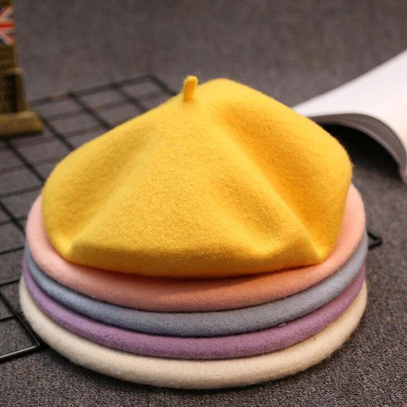 Wool Knit Beret 1