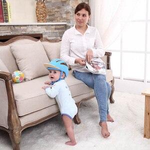 Image 5 - Bebek Güvenliği Öğrenmek Yürüyüş Kapağı Anti çarpışma Koruyucu Şapka Erkek Kız Yumuşak Rahat Kask Kafa Güvenlik Koruma Ayarlanabilir