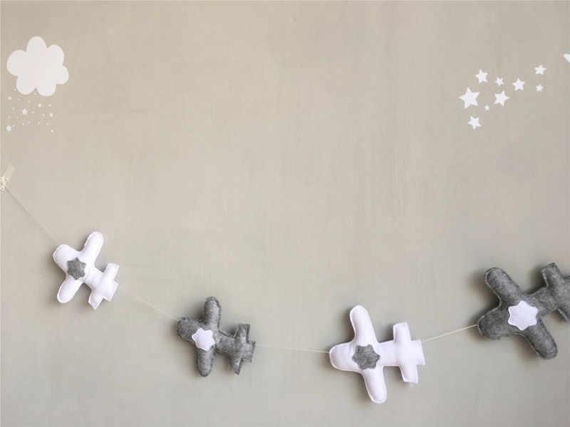 1.5 m comprimento ins quente nodic 5 aviões bebê recém-nascido no berço infantil decoração da parede do quarto fotografia adereços do bebê decoração