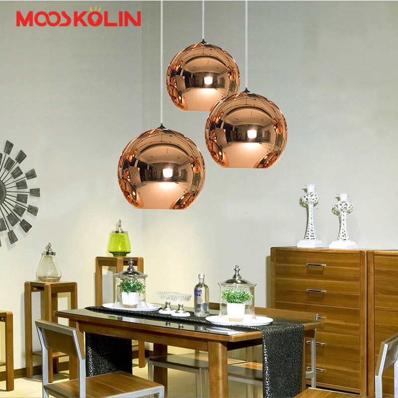 Creative LED Glass Ball Globe Pendant Lights Hanging Lamp Decoration Living Room Bedroom Coffee Store Bar Kitchen Light Fixtures fumat stained glass pendant lamps european style baroque lights for living room bedroom creative art shade led pendant lamp