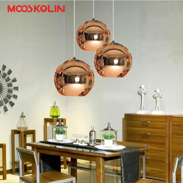 GroBartig Kreative LED Glas Ball Globus Lichter Hängen Lampe Dekoration Wohnzimmer  Schlafzimmer Coffee Shop Bar Küche Leuchten